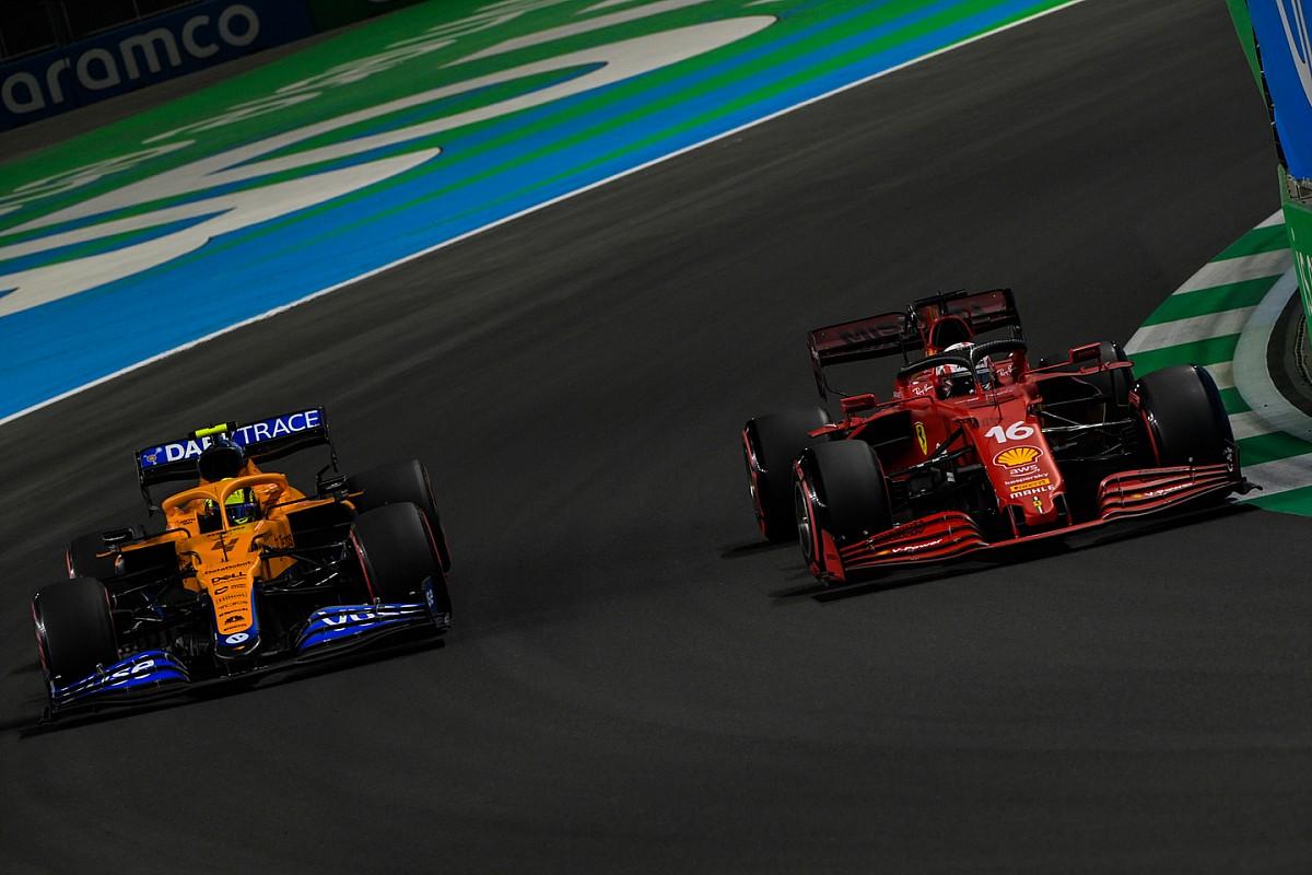 Leclerc: Niet verwachten dat we nu elke race met Mercedes vechten