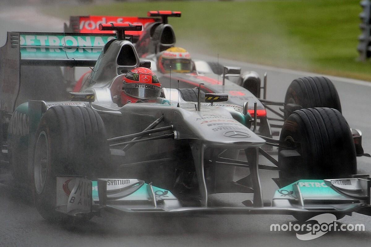 Haug   Schumacher niet aan de kant geschoven door Mercedes