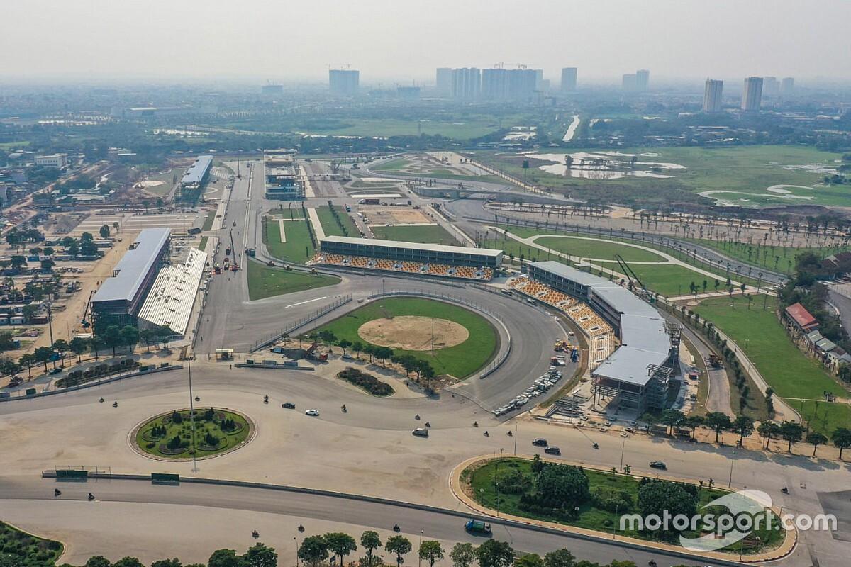F1  GP van Vietnam gaat voorlopig gewoon door