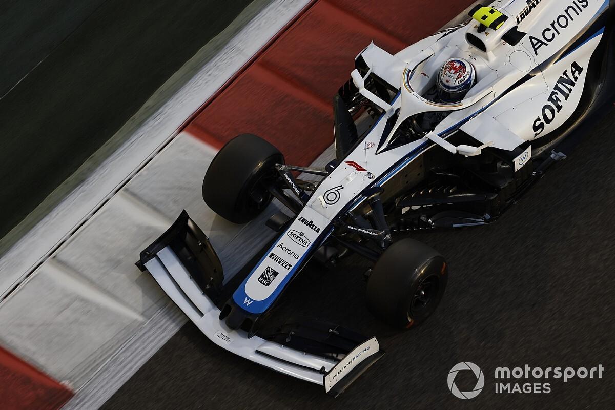 Ontbreken    roze Mercedes    geen reden voor matige vorm Williams