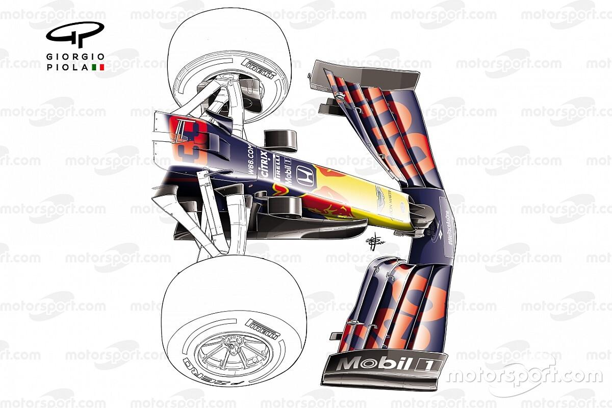 Tech  Vond Red Bull een oplossing met de nieuwe voorvleugel