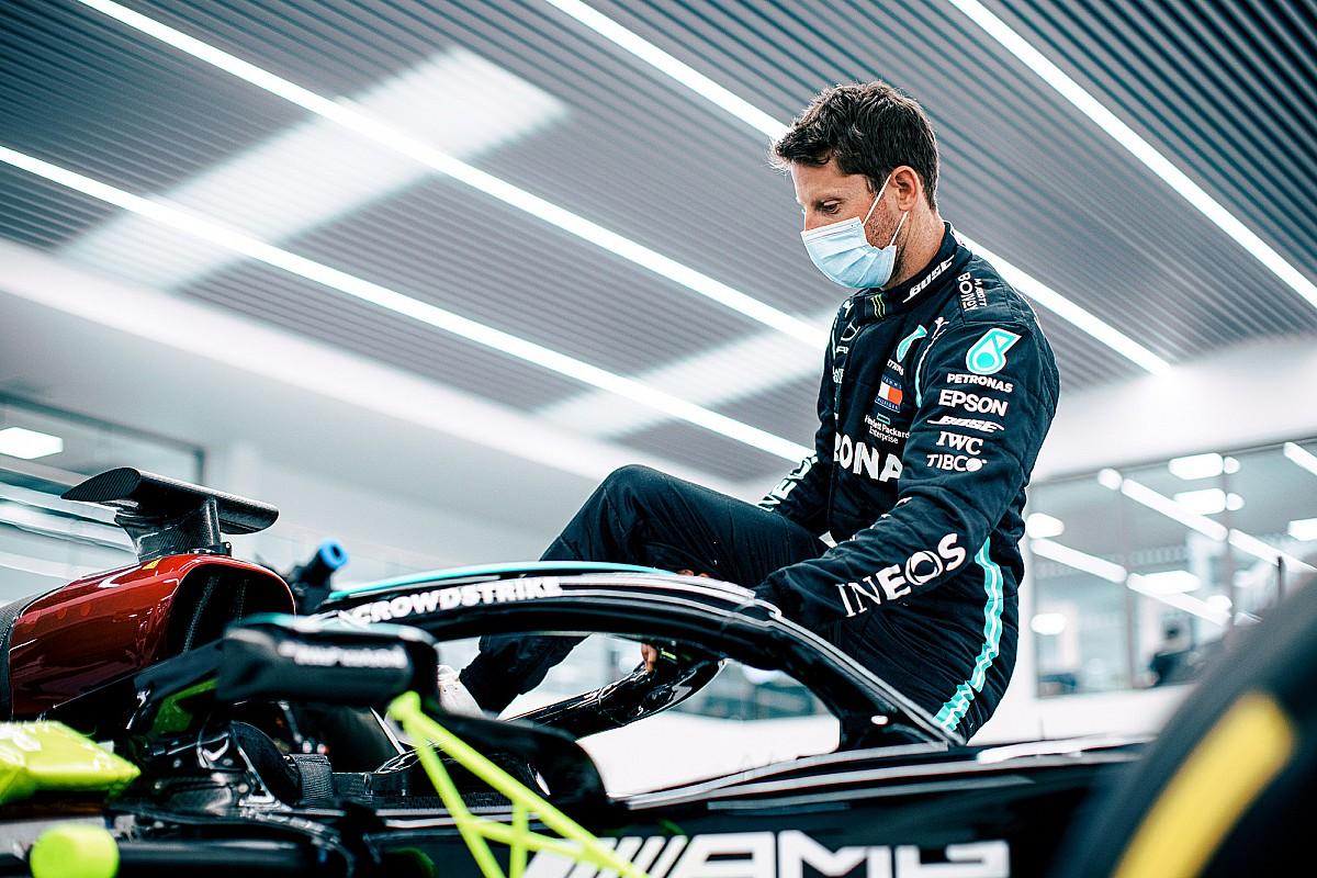 VIDEO: Grosjean maakt zich op voor F1-test met Mercedes