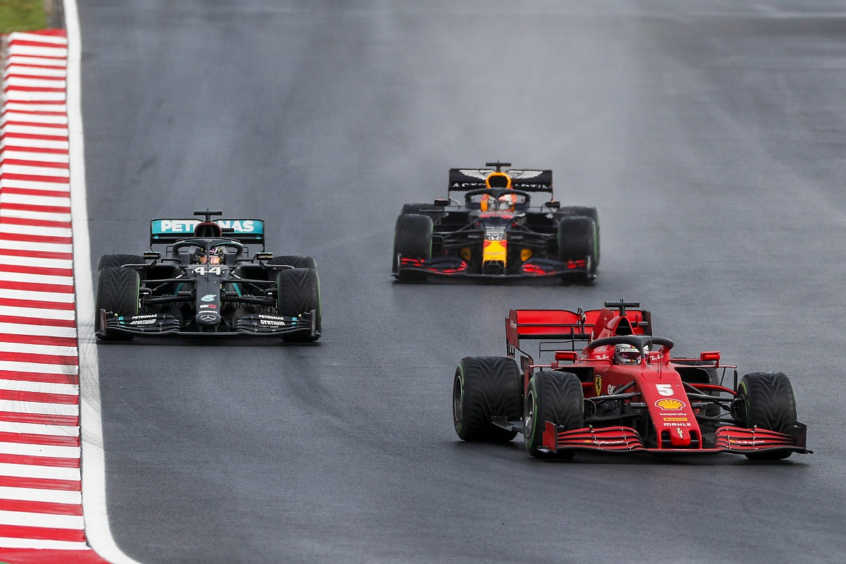Vettel vol vragen na povere Britse GP  Leclerc verrast met podium